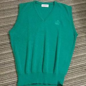 Or pick 2 for $25 Men's medium green izod sweater